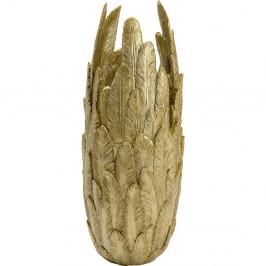 Váza ve zlaté barvě Kare Design, výška 80 cm