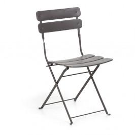 Šedá židle La Forma Ambition