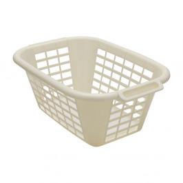Krémový koš na prádlo Addis Rect Laundry Basket, 40 l