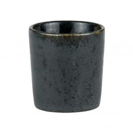 Černý kameninový kalíšek na vajíčko Bitz Basics Black