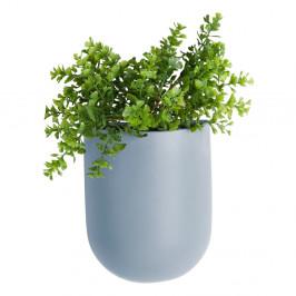 Modrý nástěnný květináč PT LIVING Oval