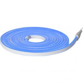 Modrý venkovní světelný řetěz Best Season Rope Light Flatneon, délka 500 cm
