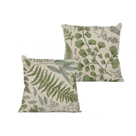 Povlak na polštář na polštář Linen Couture Botanical, 45 x 45 cm