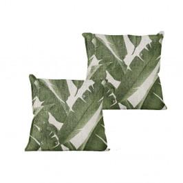Povlak na polštář Linen Couture Palms, 45 x 45 cm