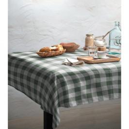 Ubrus Linen Couture Lino Green Vichy, 140 x 200 cm