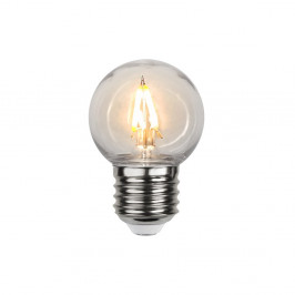 Venkovní LED žárovka Star Trading Filament E27 G45