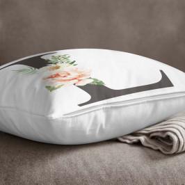 Povlak na polštář Minimalist Cushion Covers Floral Alphabet L, 45 x 45 cm