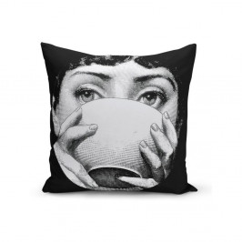 Povlak na polštář Minimalist Cushion Covers BW Kante, 45 x 45 cm