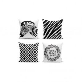 Sada 4 povlaků na polštáře Minimalist Cushion Covers Careto, 45 x 45 cm