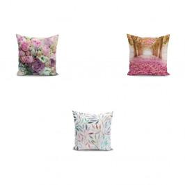 Sada 3 povlaků na polštáře Minimalist Cushion Covers Mesmia, 45 x 45 cm