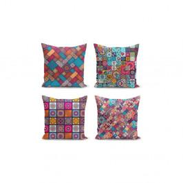 Sada 4 povlaků na polštáře Minimalist Cushion Covers Fearie, 45 x 45 cm