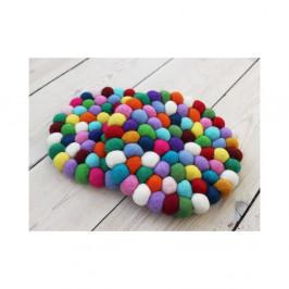 Kuličkový podtácek z vlny Wooldot Ball Coaster Multi, ⌀ 20 cm