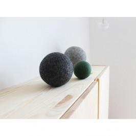 Sada 3 dekorativních vlněných koulí Wooldot Ball Set Forest