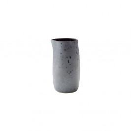 Šedý kameninový džbánek na mléko Bitz Basics Grey, 0,2 l