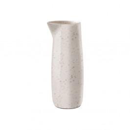 Krémový kameninový džbánek na mléko Bitz Basics Matte Cream, 0,5 l