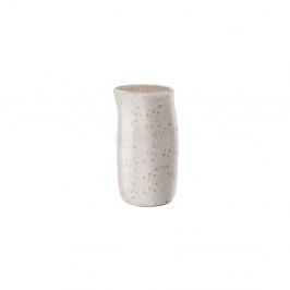 Krémový kameninový džbánek na mléko Bitz Basics Matte Cream, 0,2 l
