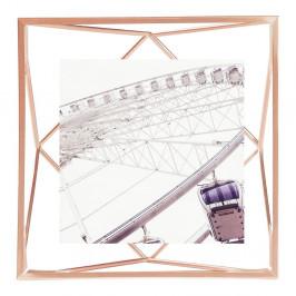 Rám ve měděné barvě na fotografii o rozměru 10 x 10 cm Umbra Prisma