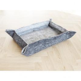 Šedý plstěný pelíšek z vlny pro domácí zvířata Wooldot Felt Pet Mat, 60 x 40 cm
