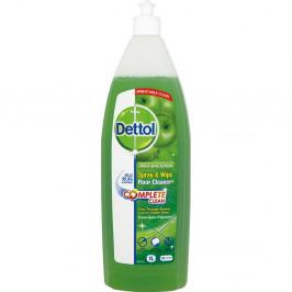 Antibakteriální podlahový čistič podlah s vůní zeleného jablka Dettol, 1l