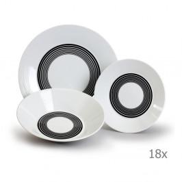 Sada 18 porcelánových talířů Thun Lea