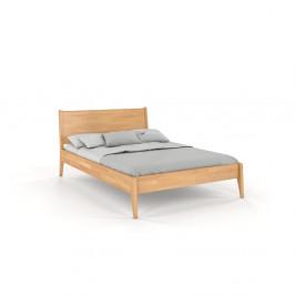 Dvoulůžková postel z bukového dřeva Skandica Visby Radom, 160x200cm