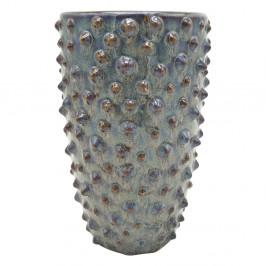 Šedá keramická váza PT LIVING Spotted, výška 25 cm