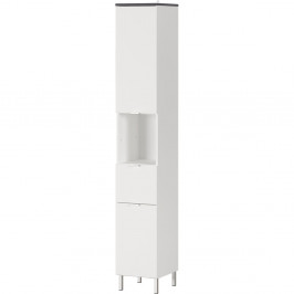 Bílá skřínka Germania Tampa,výška190cm