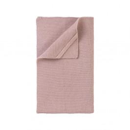 Světle růžová pletená utěrka Blomus Wipe, 55x32cm