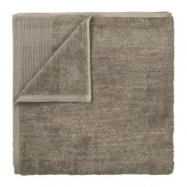 Hnědý bavlněný ručník Blomus, 100x50cm