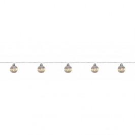 Transparentní LED světelný řetěz Markslöjd Solo, 10 světýlek, délka 210 cm