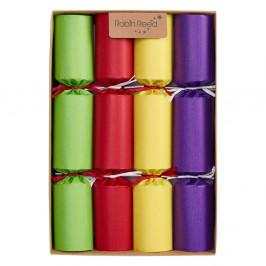 Sada 8 vánočních crackerů Robin Reed Kraft Chimes