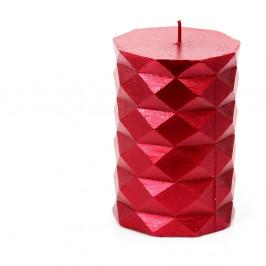 Červená svíčka Unimasa Fashion,výška10cm