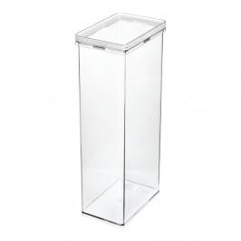 Transparentní úložný box iDesignTheHomeEdit, výška31,1cm