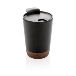 Černý termohrnek XD Collection, 0,3 l