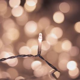 LED světelný řetěz DecoKing Drop,200 světýlek, délka9,88m