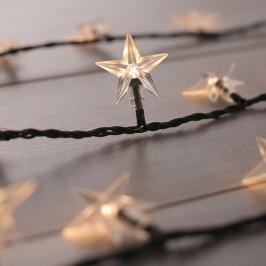 Prodloužení LED světelného řetězu DecoKing Star, 100 světýlek,délka7,5m