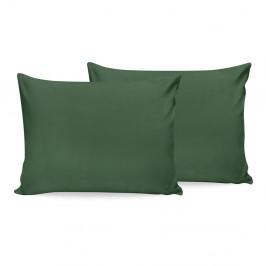 Sada 2 zelených bavlněných povlaků na polštář Beverly Hills Polo Club, 50x70cm