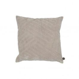 Béžový dekorativní polštář BePureHome Velvet Nougat, 50 x 50 cm