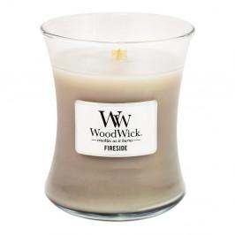 Vonná svíčka WoodWick Oheň v krbu, 55hodin hoření