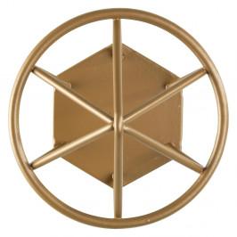 Nástěnný háček ve zlaté barvě Wenko Menton