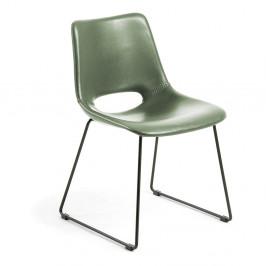 Zelená jídelní židle La Forma Zahara