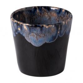 Modro-černý kameninový šálek na espresso Costa Nova, 200 ml