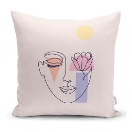 Povlak na polštář Minimalist Cushion Covers Post Modern Drawing, 45 x 45 cm