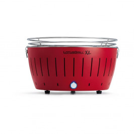 Červený bezkouřový gril LotusGrill XL