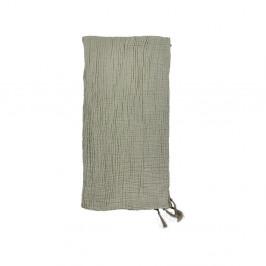 Zelený bavlněný přehoz přes postel na dvoulůžko Södahl Poetry,200x260cm