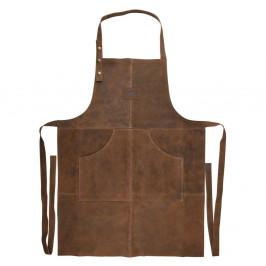 Kožená venkovní zástěra Esschert Design Barbecue