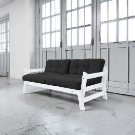 Rozkládací pohovka Karup Step White/Grey