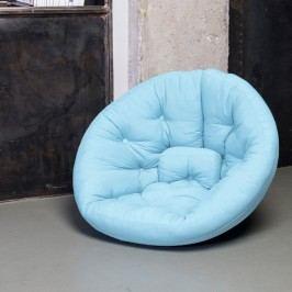 Rozkládací křesílko Karup Design Nest Light Blue