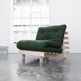 Variabilní křeslo Karup Design Roots Raw/Dark Green