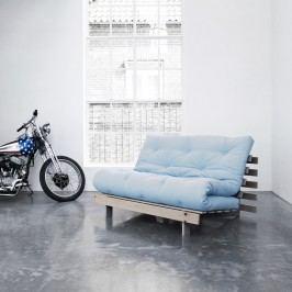 Variabilní pohovka Karup Design Roots Raw/Light Blue